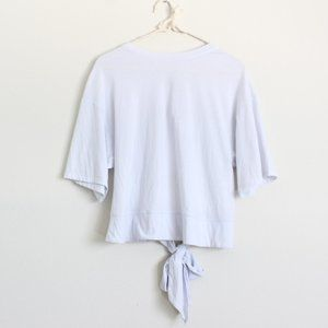 NWT Z Supply The Tie Back Tee Top